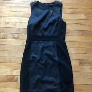 NWT Theory Taline Dress in Charcoal